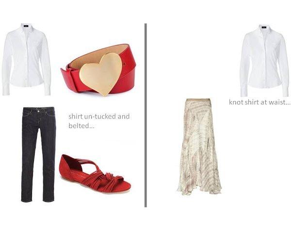 L'Armoire Idéale: white shirt – seven ways