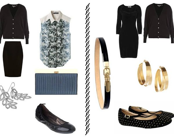 Visualizing French Chic: 7 in black