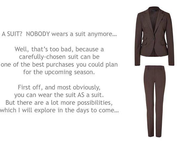 Maximize your ROI: A Suit – step one