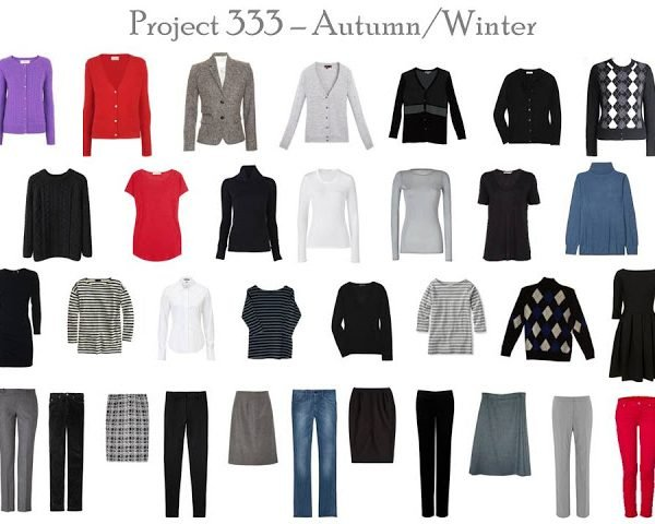 Capsule Wardrobe Project 333: from the sublime to the ridiculous