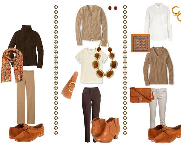 Another Common Capsule Wardrobe, with amber