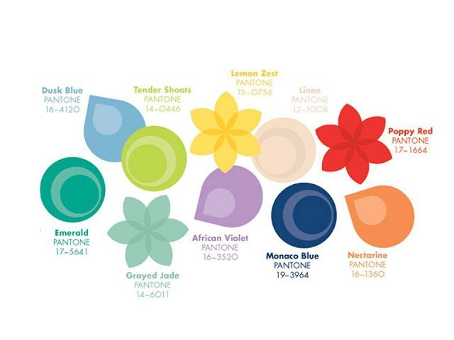 Pantone Spring/Summer 2013 colors