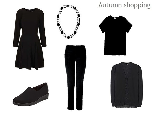 A very simple autumn shopping list in pictures