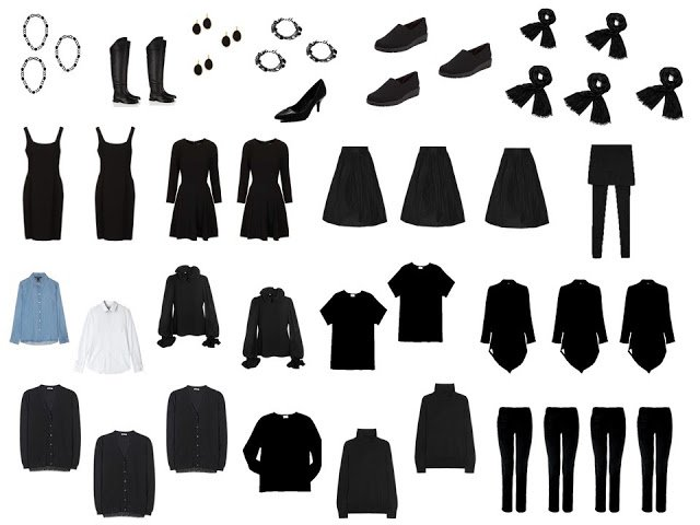 The garments necessary to construct your dream wardrobe