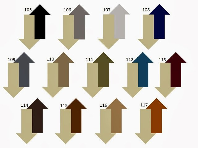 13 combinations of a secondary neutral color with beige or tan
