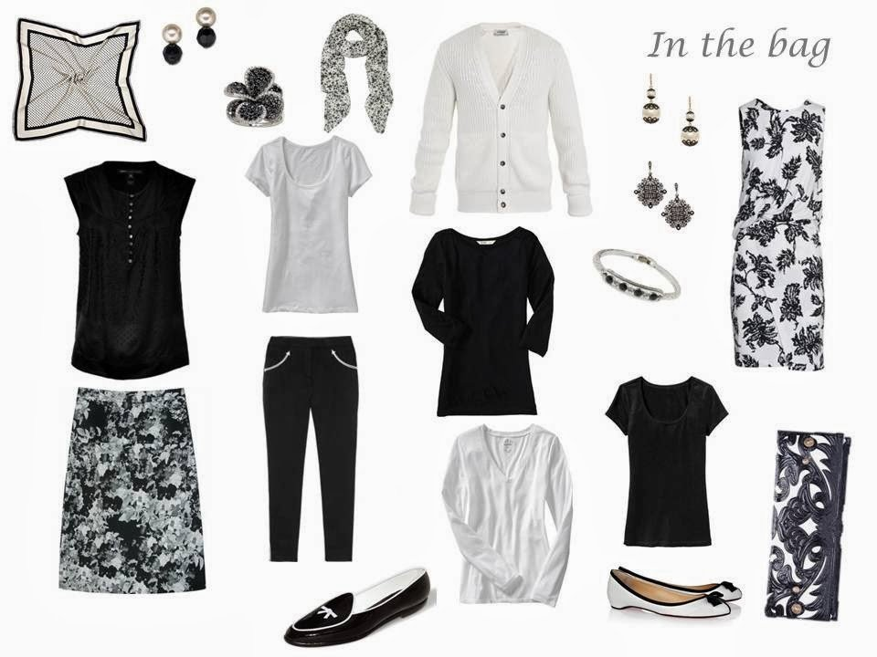 How To Pack For Springtime In Paris Black White And