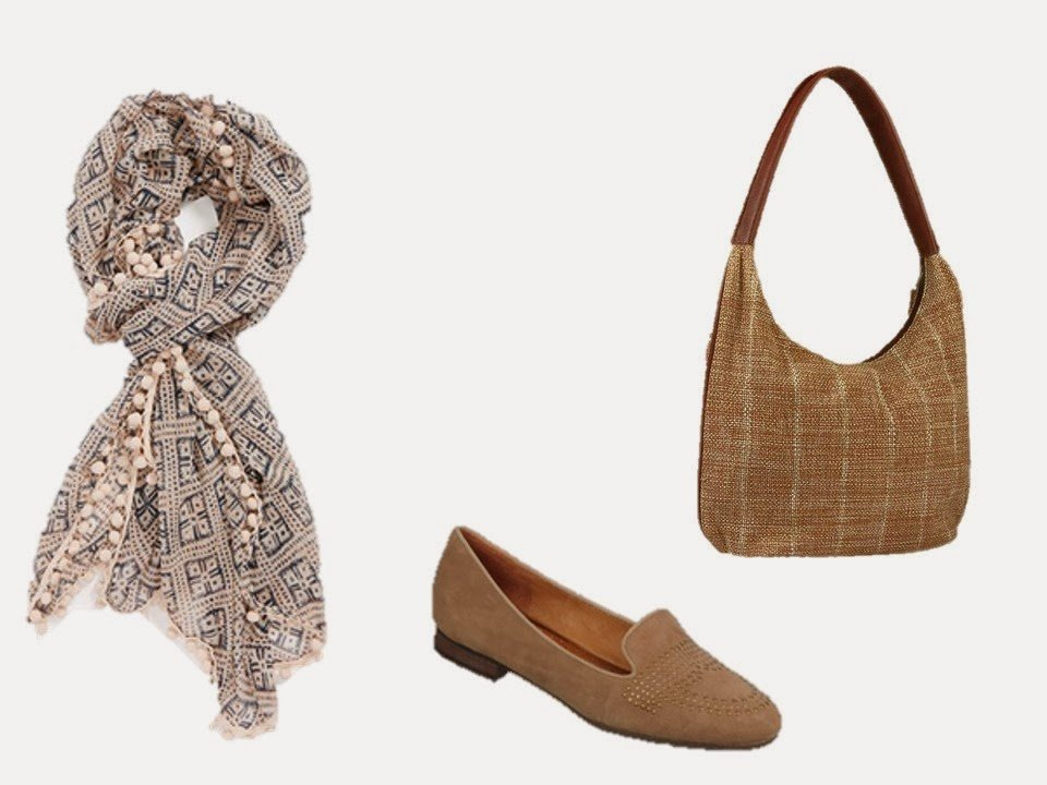 three accessories to give a chalet feel to a neutral wardrobe