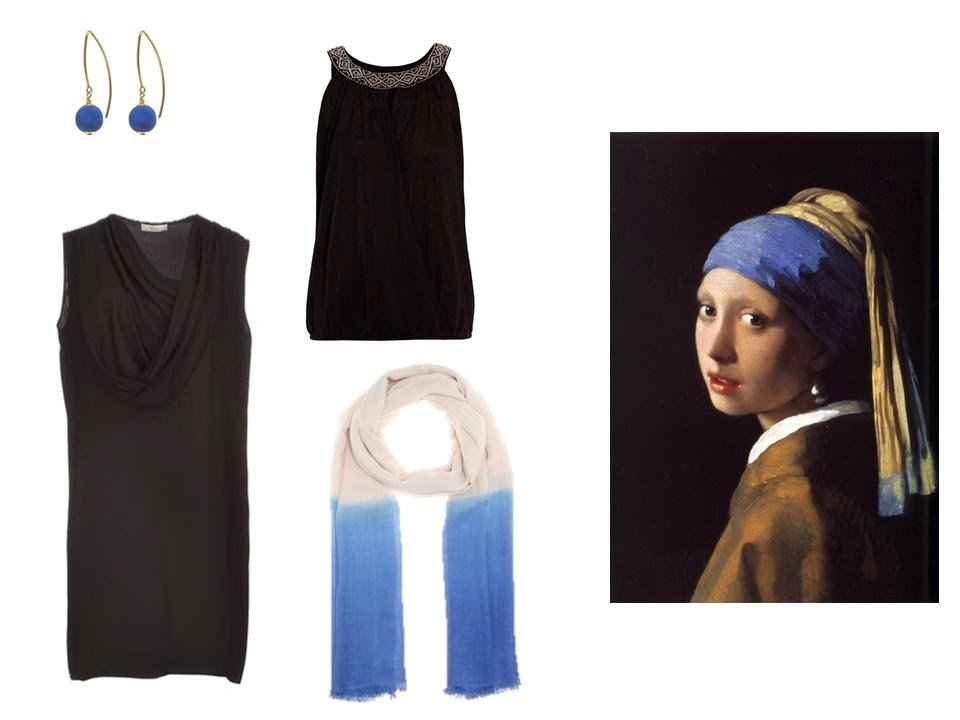 additional garments and accessories for Girl with a Pearl Earring by Vermeer