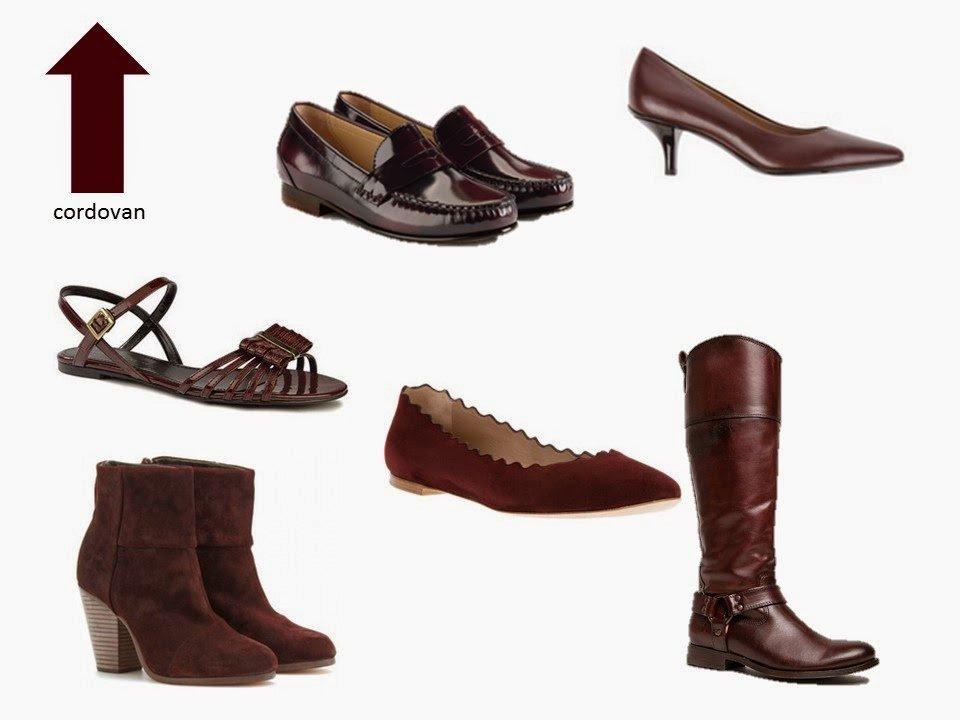 six classic maroon burgundy cordovan shoe styles