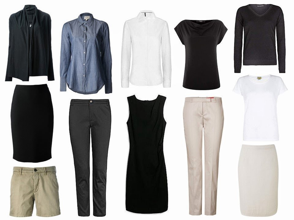 Minimalist Wardrobe, common wardrobe, basic wardrobe
