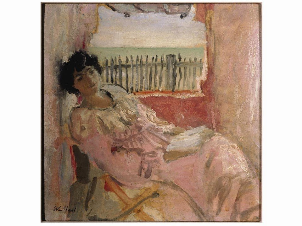 Lucy Hessel at the Seashore by Edouard Vuillard