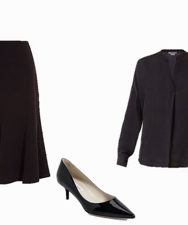 How to Build a Capsule Wardrobe from Scratch Step 9: A Skirt, and Essential Accompaniments