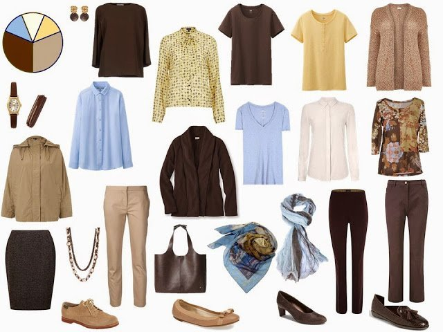 The Brown and Tan Starting From Scratch Wardrobe