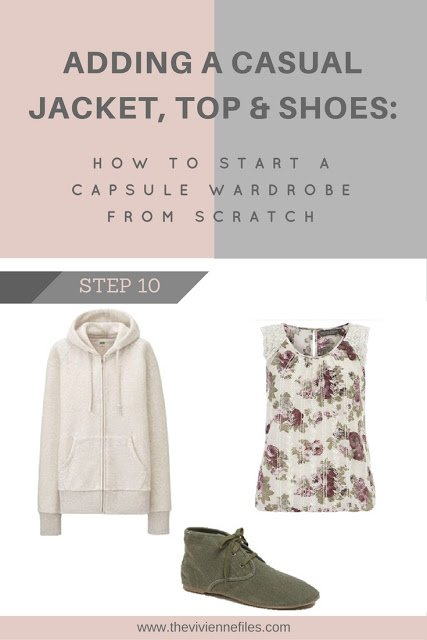 How to build a capsule wardrobe - step 10 - adding casual clothes