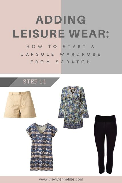 How to build a capsule wardrobe from scratch - step 14 - Leisure Wear
