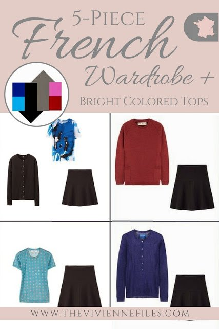 The French 5-Piece Wardrobe + A Common Capsule Wardrobe: Add Bright Colors