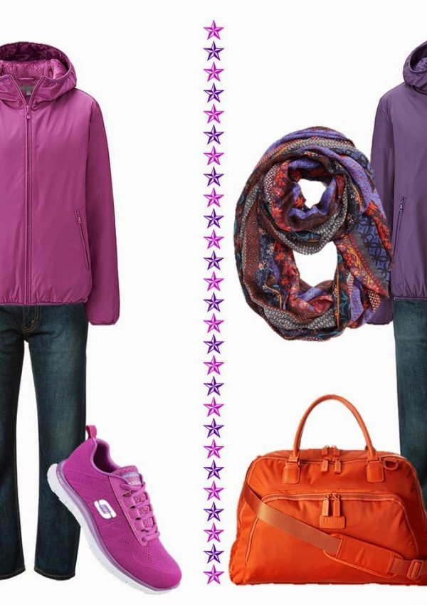 Chic Sightings: Pink and Purple Parkas