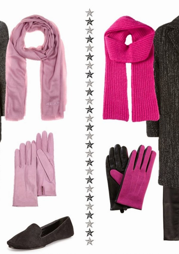 Tweed Coats and Pink – Two Different Approaches