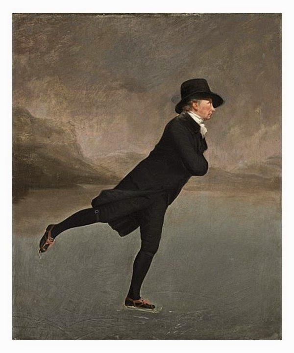 Building a Capsule Wardrobe by Starting with Art: Reverend Walker Skating by Sir Henry Raeburn