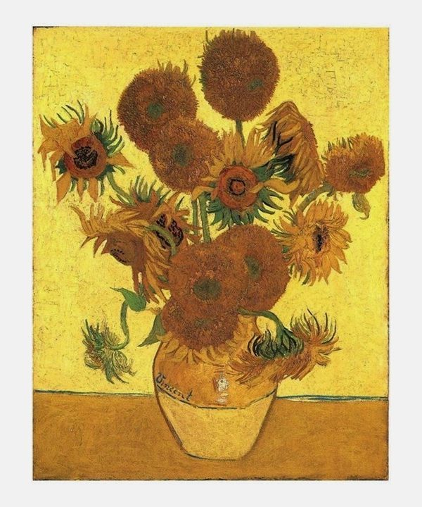 Building a Capsule Wardrobe by Starting with Art: Sunflowers by Vincent Van Gogh
