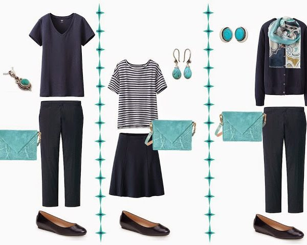 A Turquoise Handbag: Integrating a New Accent Color