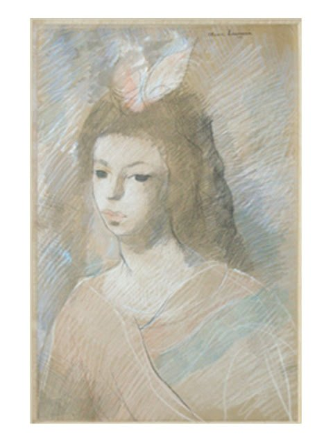 Portrait of a Girl by Marie Laurencin