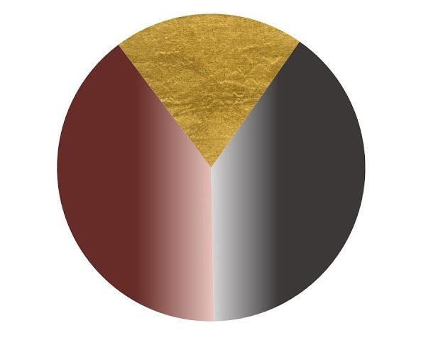 Building a Capsule Wardrobe by Starting with A WALL?? Pulling out all the stops, in Grey, Burgundy and Gold