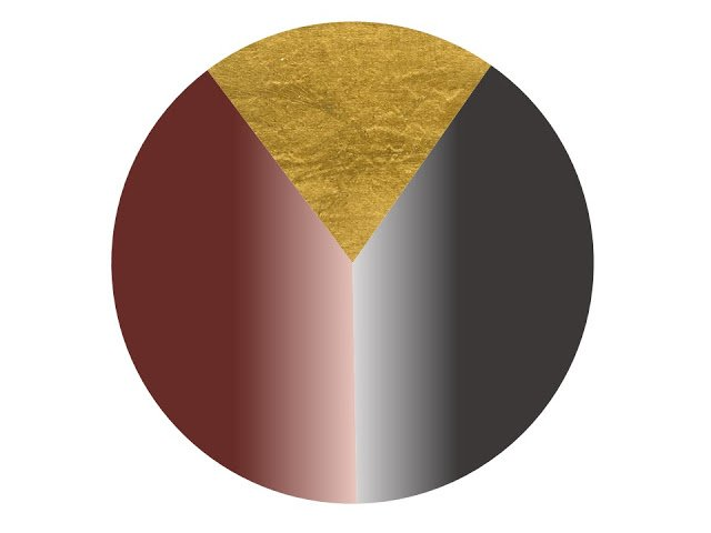 Color scheme of grey, burgundy and grey, taken from a wall in a gym in Chicago.