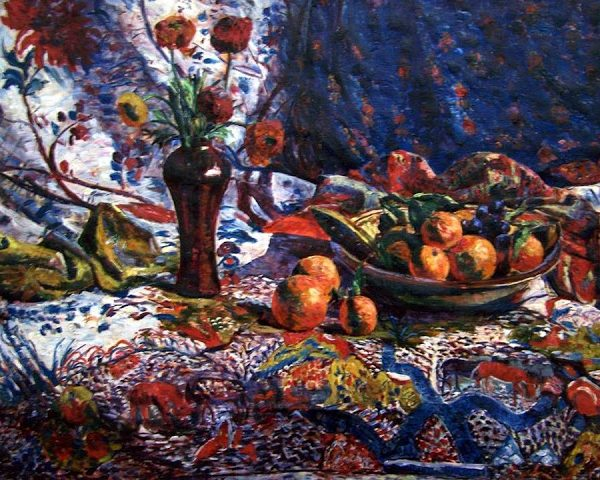 Building a Capsule Wardrobe by Starting with Art: Nature Morte by Georgette Agutte