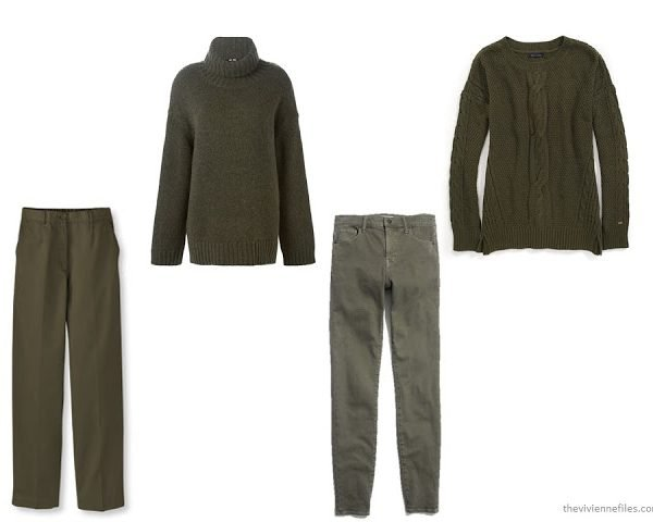 Choosing an Accent Color for Olive Green