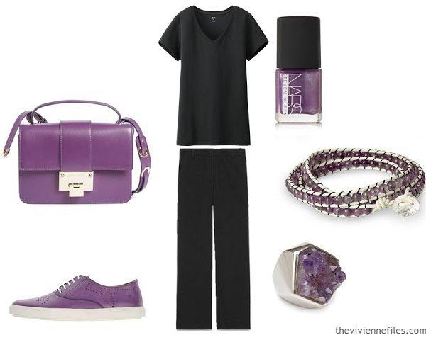 Wearing Unflattering Colors: Purple
