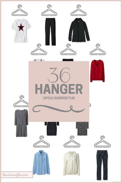 A 36-Hanger Capsule Wardrobe Plan