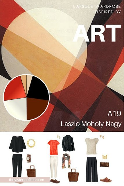 How to Build a Capsule Wardrobe by Starting with Art: A19 by Laszlo Moholy-Nagy