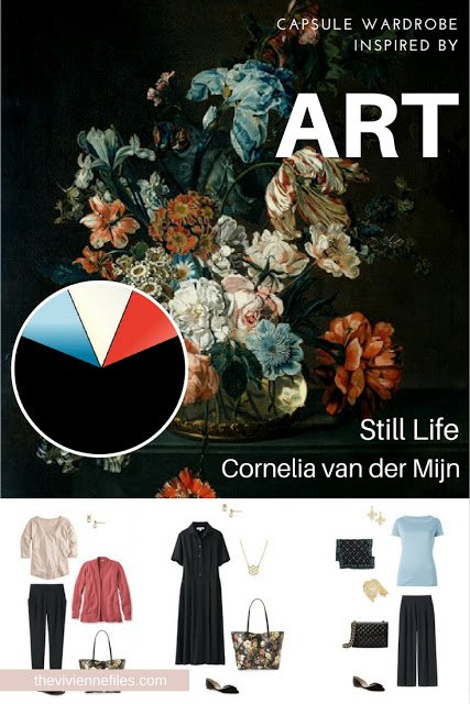 How to Build a Capsule Wardrobe by Starting with Art: Still Life by Cornelia van der Mijn