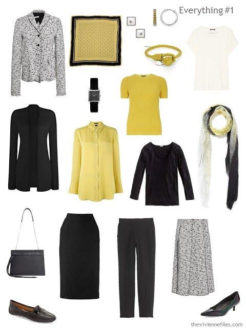 How to Combine 2 Capsule Wardrobes - wardrobe 1