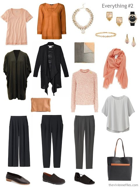 How to Combine 2 Capsule Wardrobes - wardrobe 2