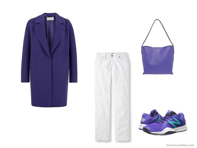 What Women were Wearing in Paris, Spring 2016 - purple