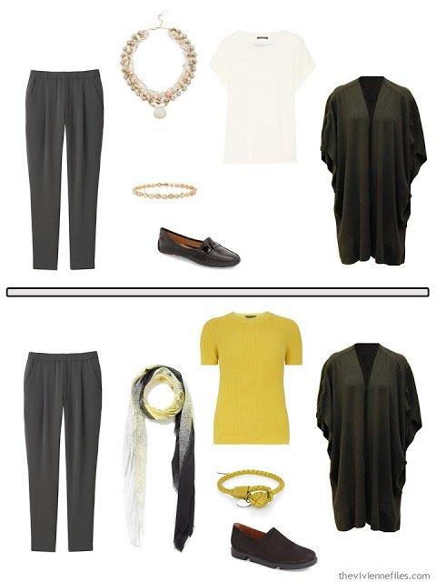 How to Combine 2 Capsule Wardrobes