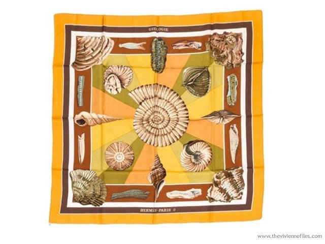 Build a Capsule Wardrobe by Starting with a Scarf: Hermes Geologie
