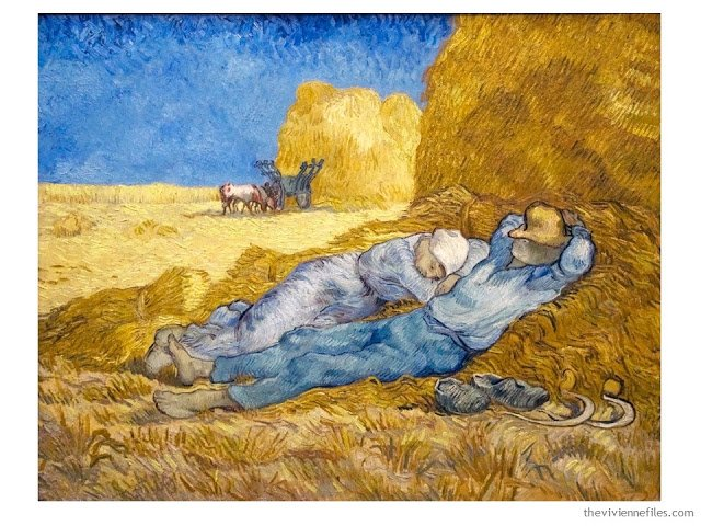 Rest from Work by Vincent van Gogh