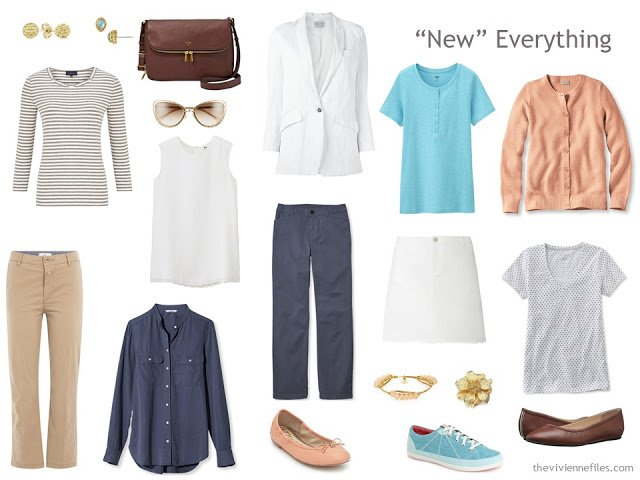 A summer capsule wardrobe for travel