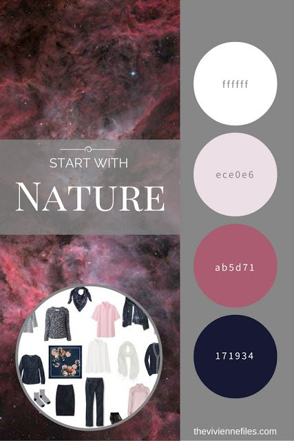 Build a Capsule Wardrobe by Starting with Nature: Great Nebula in Carina by Damian Peach