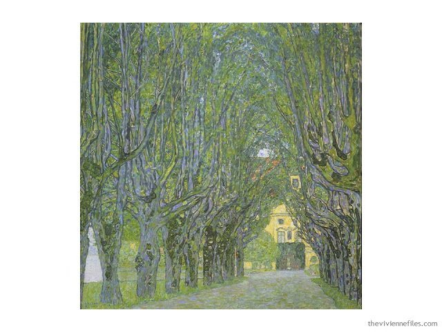 Avenue in the Park by Gustav Klimt
