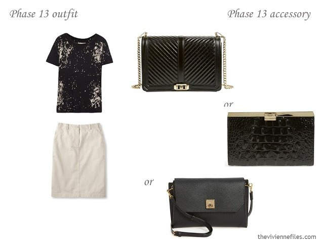 Which black clutch bag should I choose?