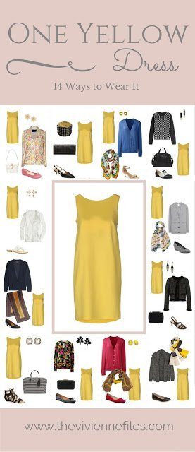 One Yellow Dress In A Capsule Wardrobe 14 Ways To Wear It The