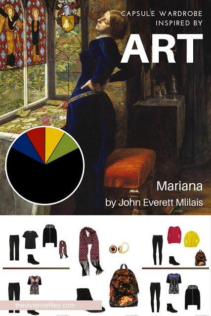 Build a Capsule Wardrobe by Starting with Art: Mariana by John Everett Mlilais