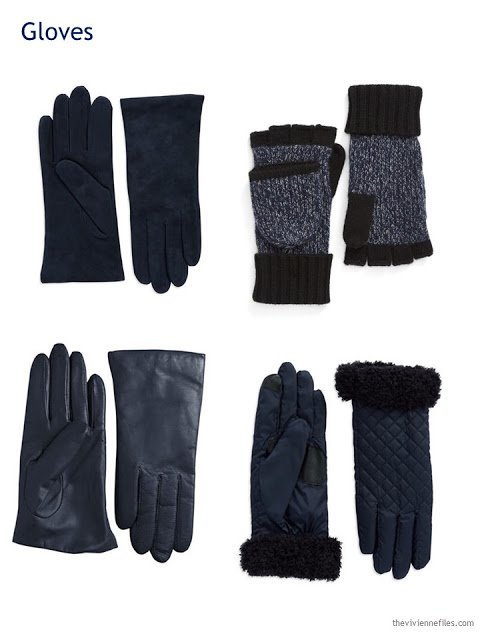 four choices of gloves for Autumn and Winter 2016