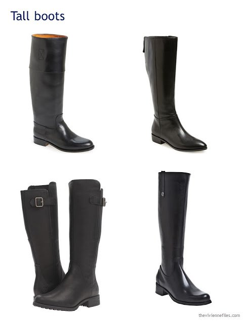four choices of riding boots for Autumn and Winter 2016