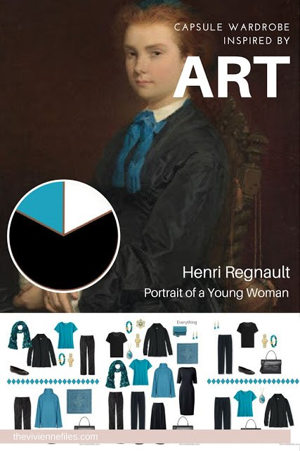 Build a Capsule Wardrobe by Starting with Art: Portrait of a Young Woman by Henri Regnault