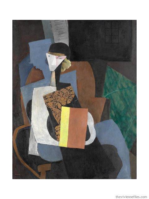 Portrait of Marvna by Diego Rivera